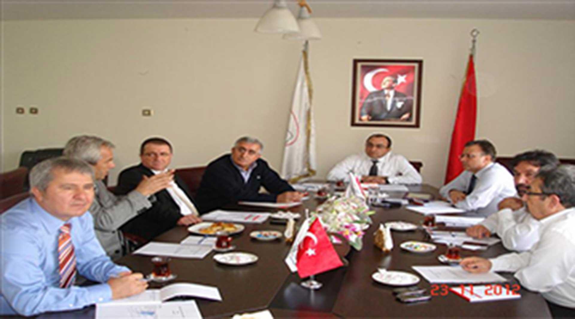TÜMDEF Yönetim Kurulu Ankara'da Toplandı...