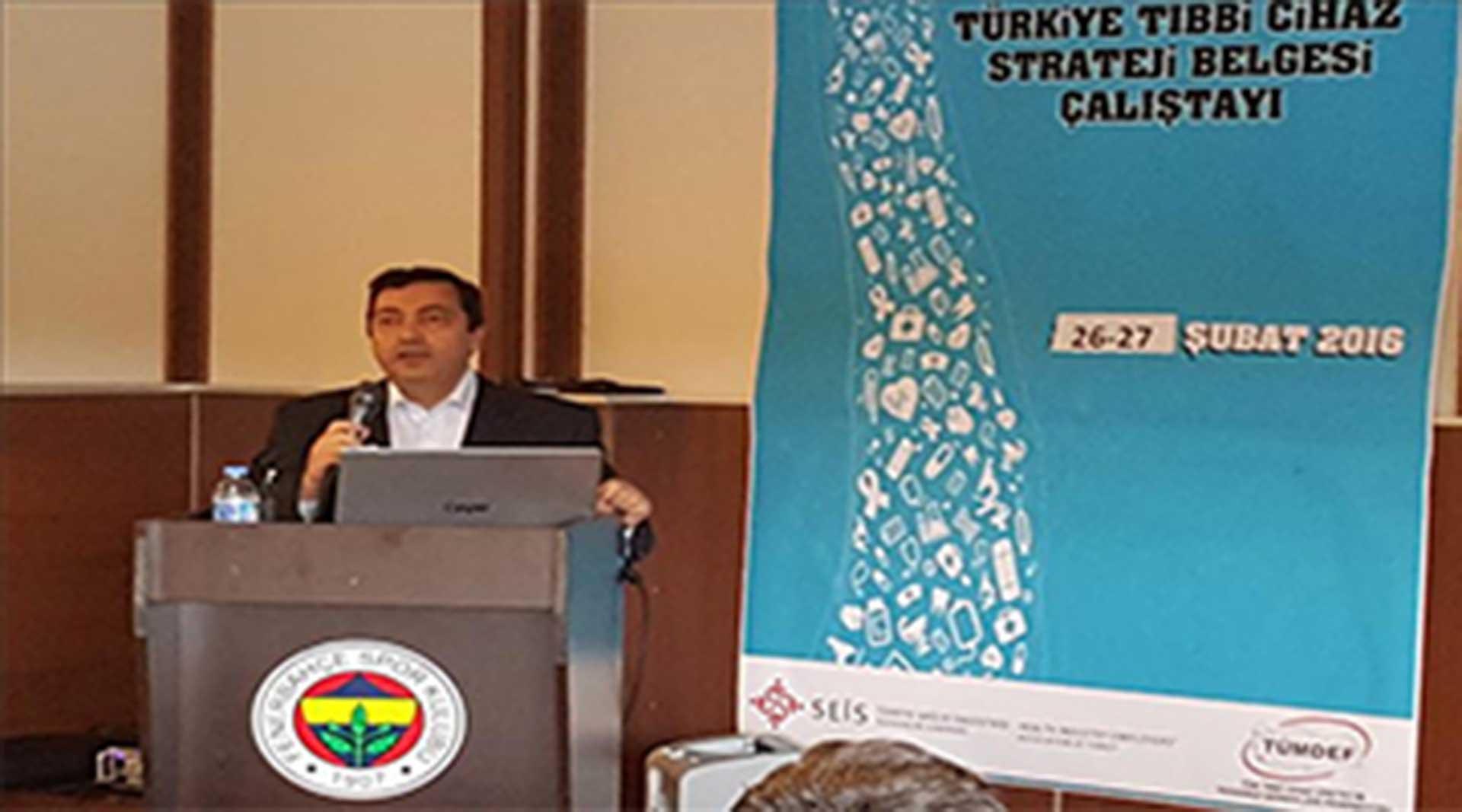 ÇALIŞTAY- SEİS Başkanı Metin DEMİR açılış konuşmasında...