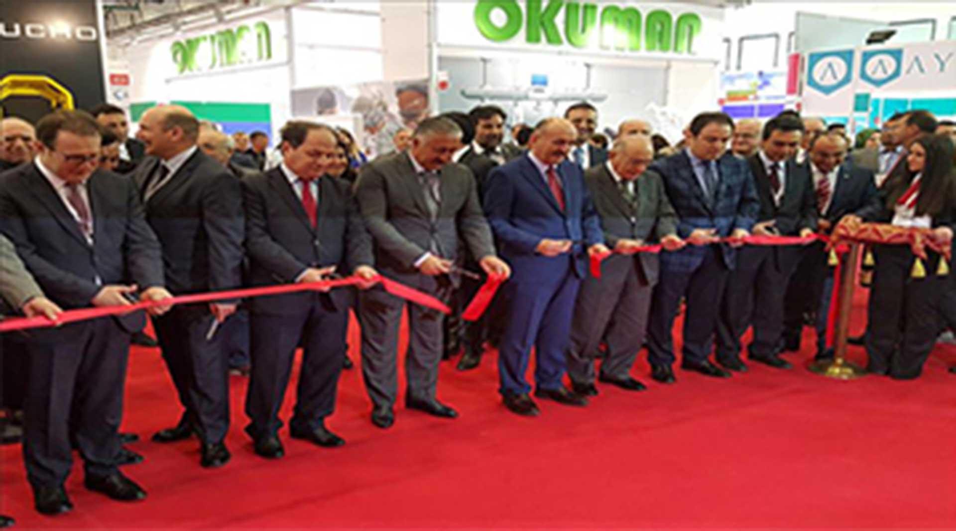 EXPOMED 2016- Kurdelayı Bakan Müezzinoğlu kesti...