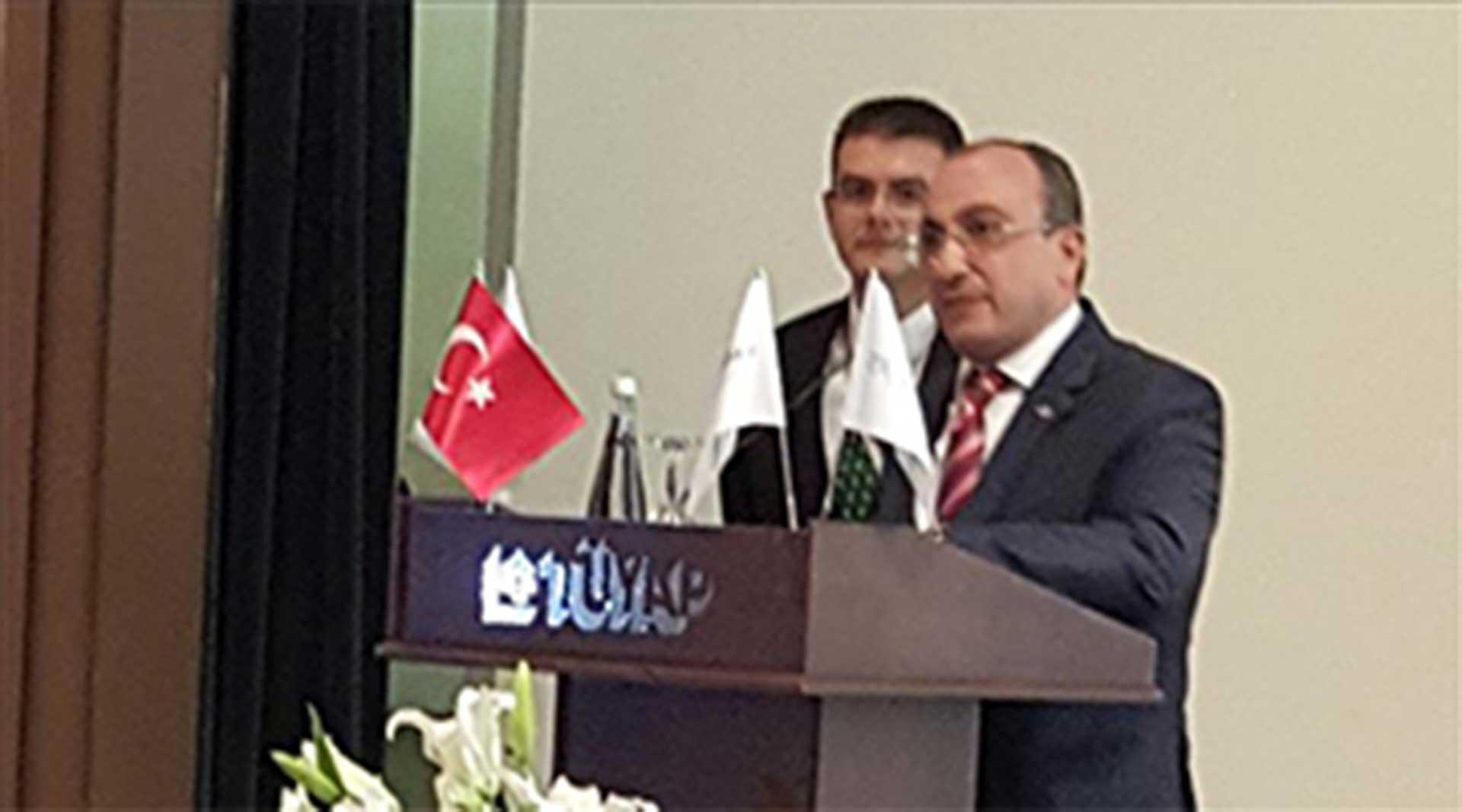 EXPOMED 2016- Başkan Kemal YAZ konuşmasında...
