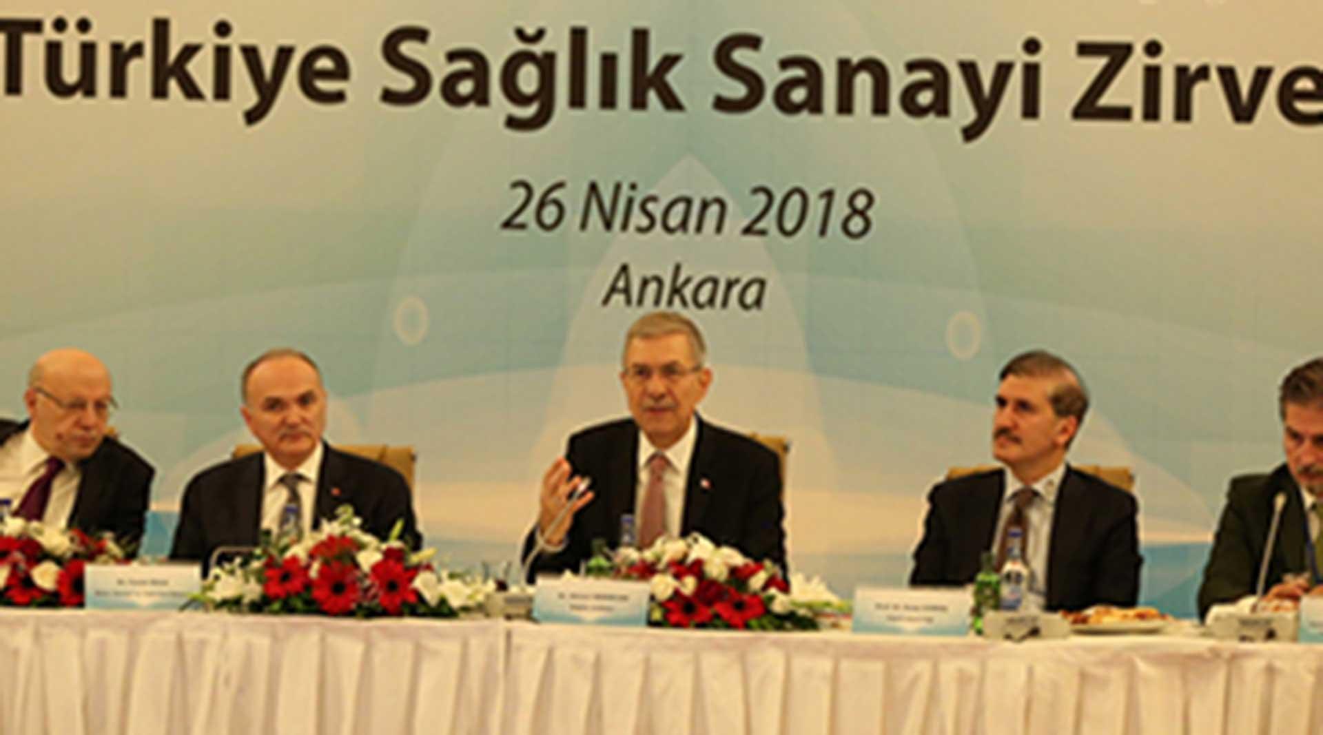 Türkiye Sağlık Sanayi Zirvesi Ankara'da Gerçekleştirildi..