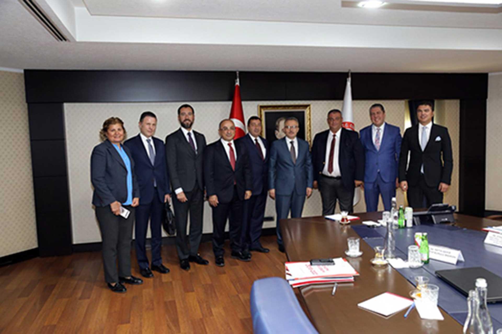 Başkanımız, Sn. Naci Ağbal ile görüştü