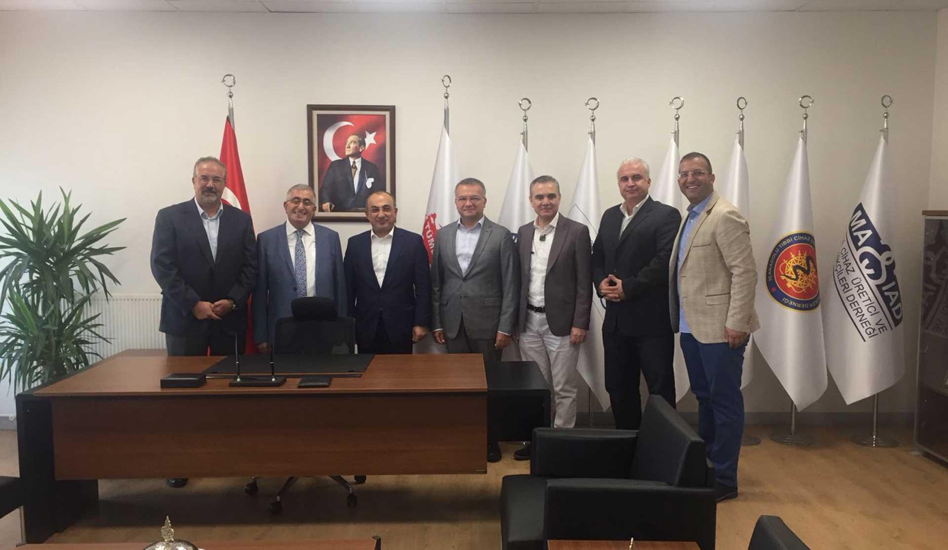 TÜMDEF Yönetim Kurulu Toplantımız Gerçekleştirildi..