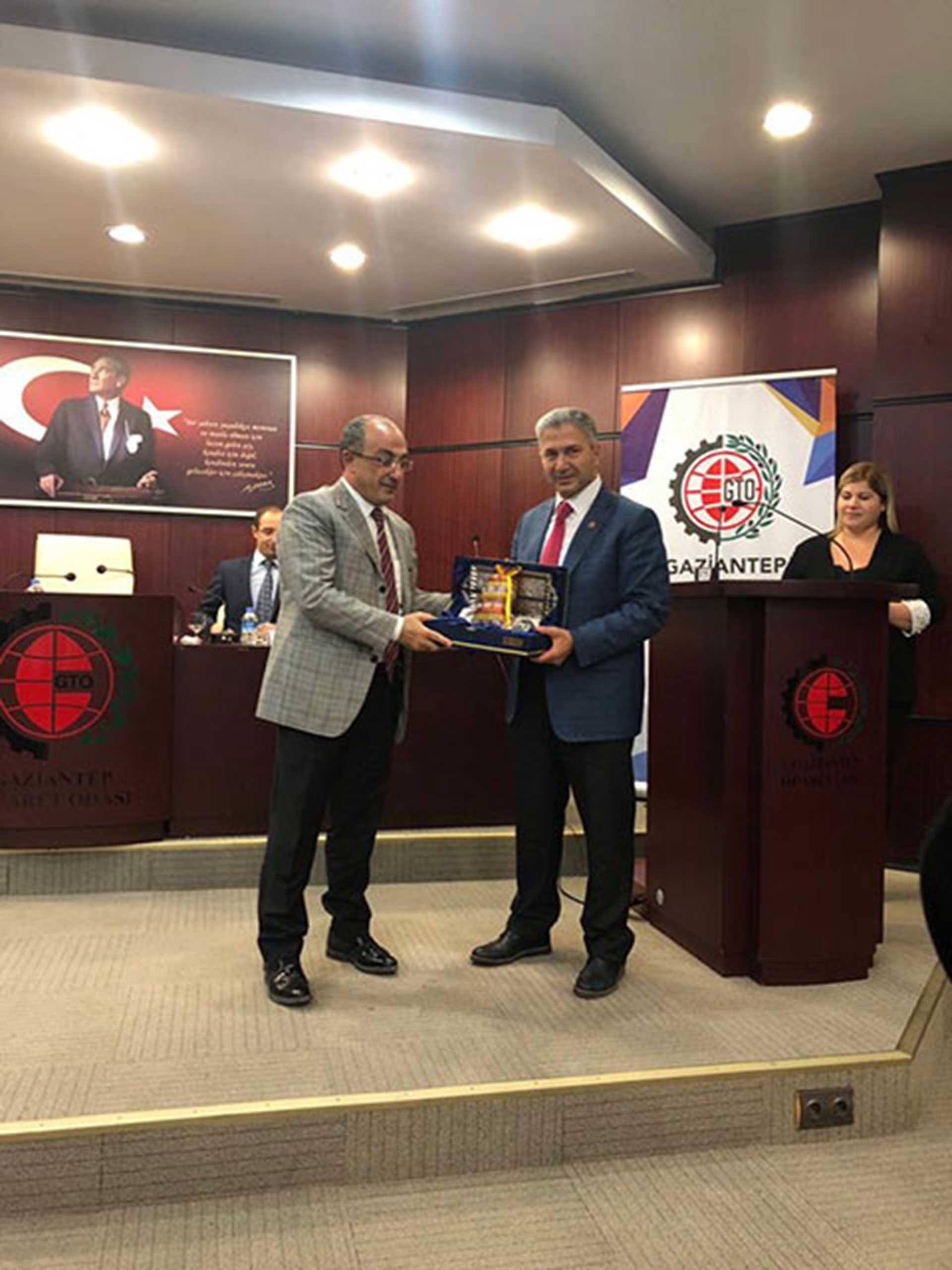 ÜTS Çalıştayı Gaziantep'te Gerçekleştirildi..
