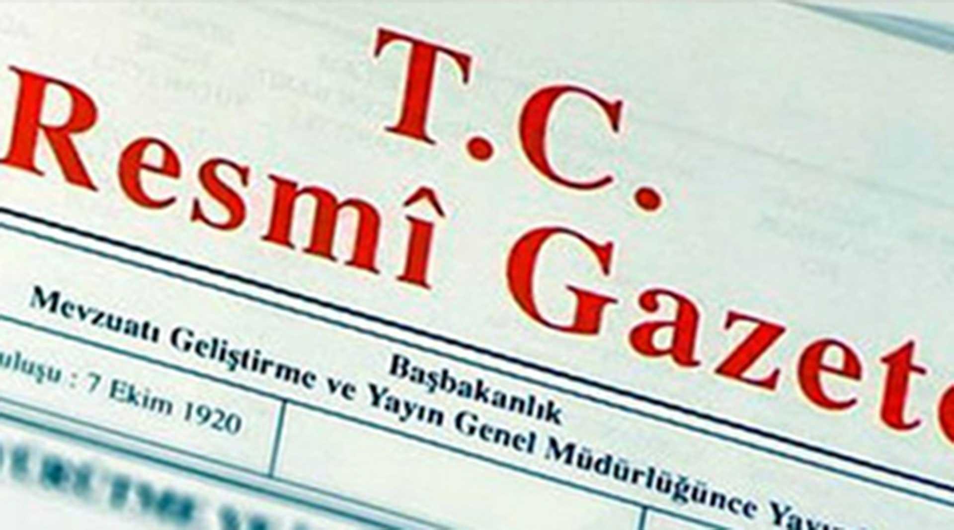 Vergi ve Diğer Bazı Alacakların Yeniden Yapılandırılması ile Bazı Kanunlarda Değişiklik Yapılmasına İlişkin 7134 sayılı Kanun yayımlanmıştır
