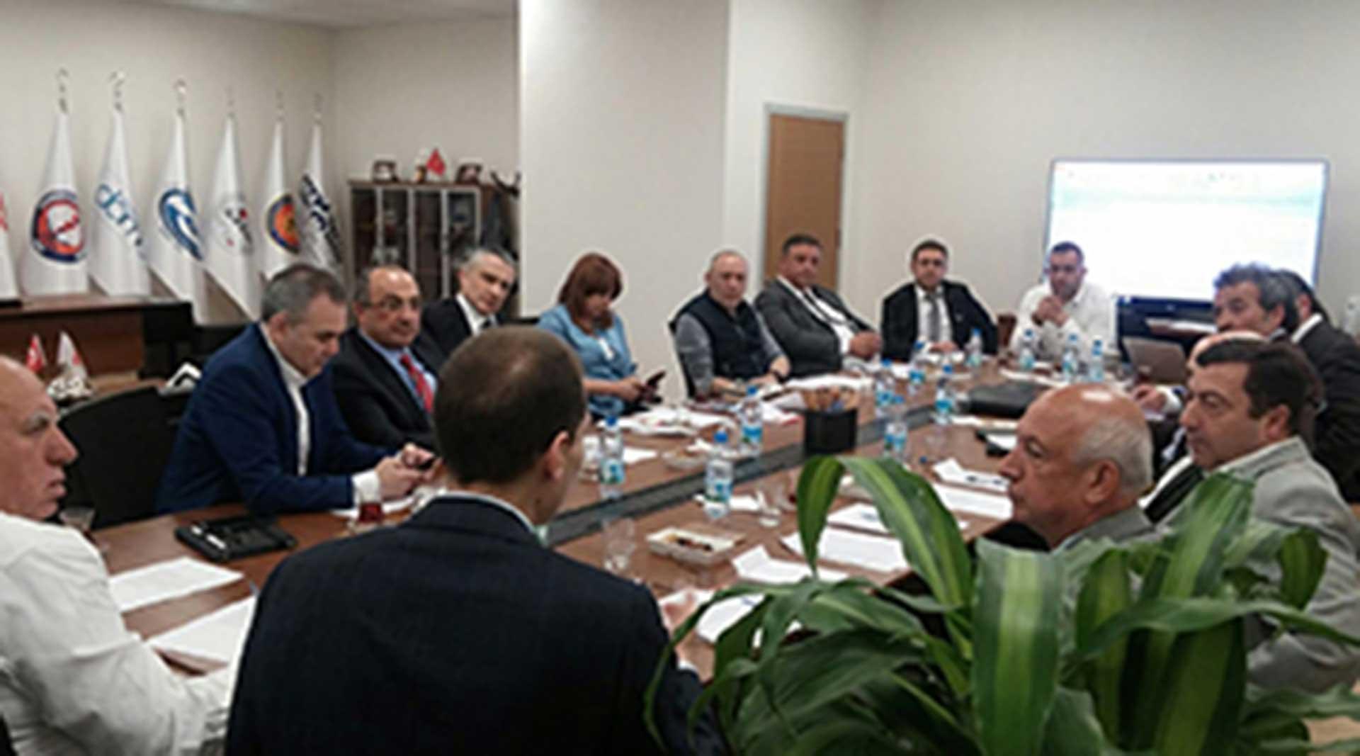 Sektörel Değerlendirme ve İskonto Oranları Hakkında Toplantı Gerçekleştirildi
