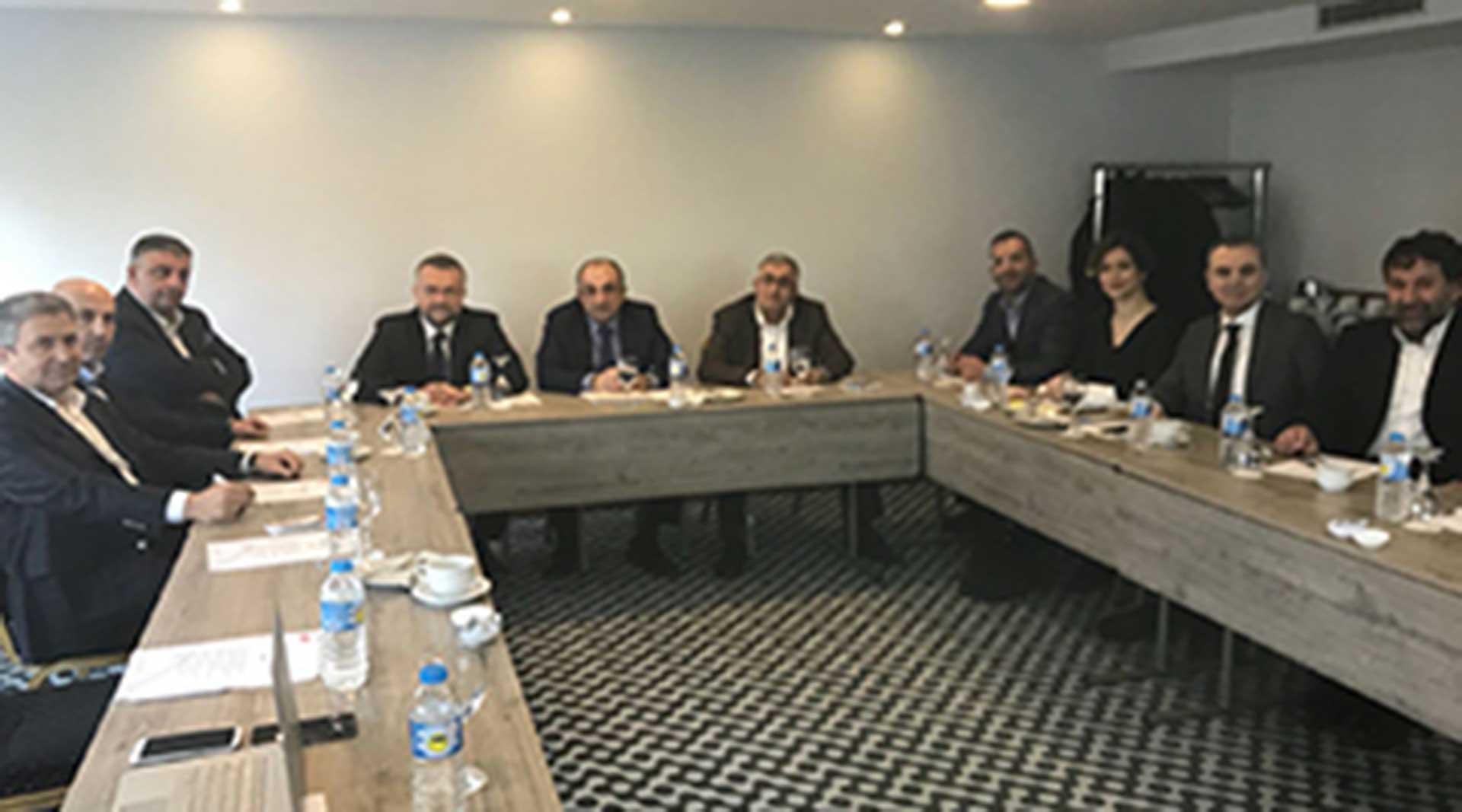 TÜMDEF 14. Yönetim Kurulu Toplantısı 3 Mart'ta İstanbul'da gerçekleştirildi.